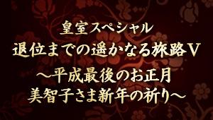 ザ・ドキュメンタリー 皇室スペシャル 退位までの遥かなる旅路Ⅴ ~平成最後のお正月 美智子さま新年の祈り~