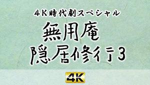 4K時代劇スペシャル 無用庵隠居修行3