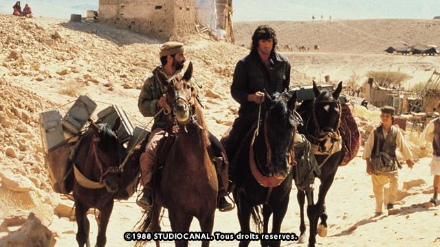 映画<br>「ランボー3/怒りのアフガン」
