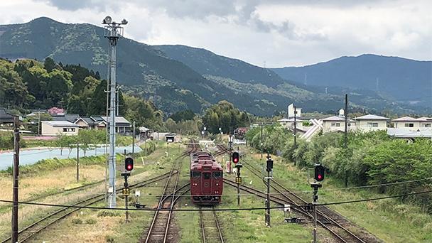 鉄道 くま 川